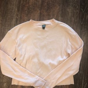 Wild Fable Pink Waffle Long Sleeve